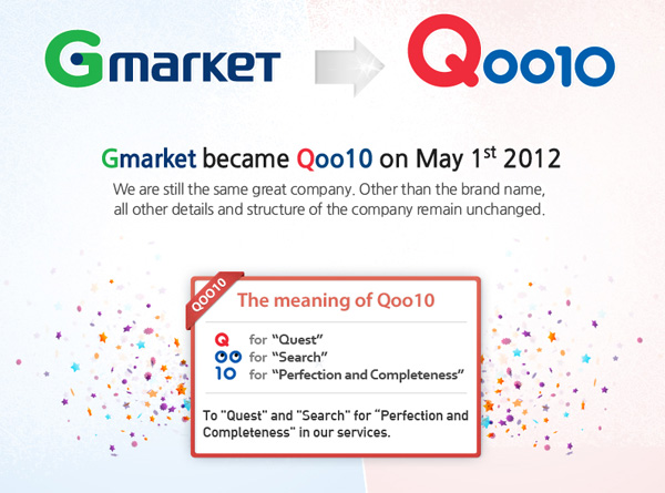 Do You Know? G-Market is now known as Qoo10?