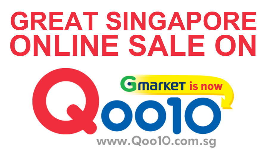 The Great Singapore ONLINE SALE on Qoo10 Today!