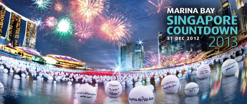 *Waves* Hello! I'm Your Marina Bay Countdown 2013 Official Blogger!