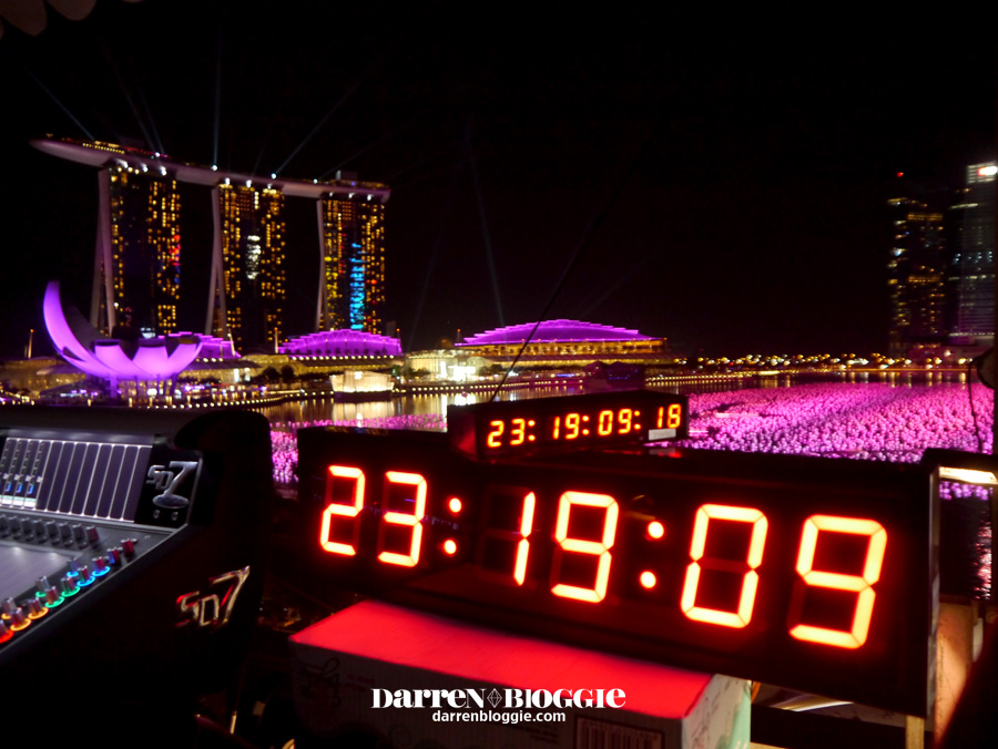 Darren Bloggie brings you Behind-the-Scene of Marina Bay Countdown 2013 Technical Rehearsal!