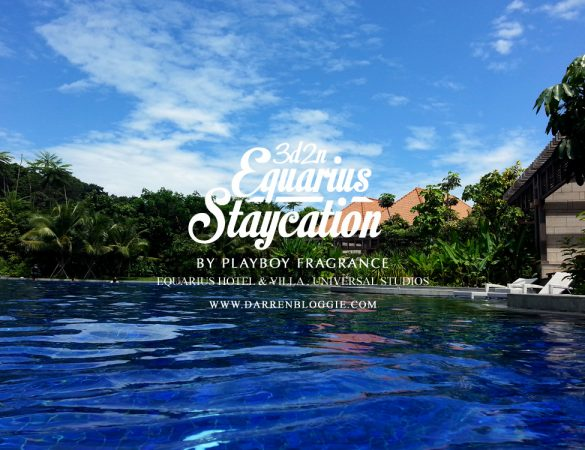 3D2N Equarius Hotel Staycation : Chillax by the Pool