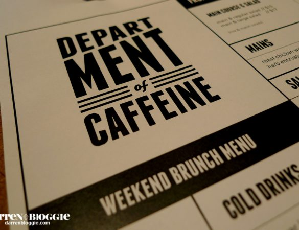 Brunch at DOC Department of Caffeine