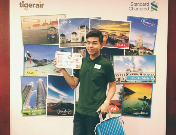 Your faster way to more holidays with Standard Chartered Tigerair Platinum Credit Card!