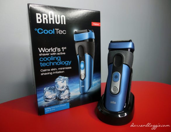 [2013 Xmas Guide + Giveaway] World's First Shaver that Put Shaving Irritation on Ice by Braun!