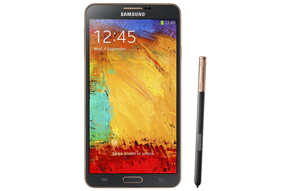 [NEWS] Samsung GALAXY Note 3 With LTE in Rose Gold Black to be available from 22 Feb (Saturday)