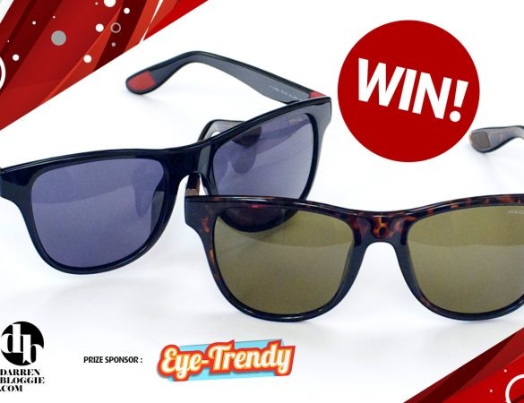 [DarrenBloggie Giveaway] Win A Pair of POLICE Sunglass!