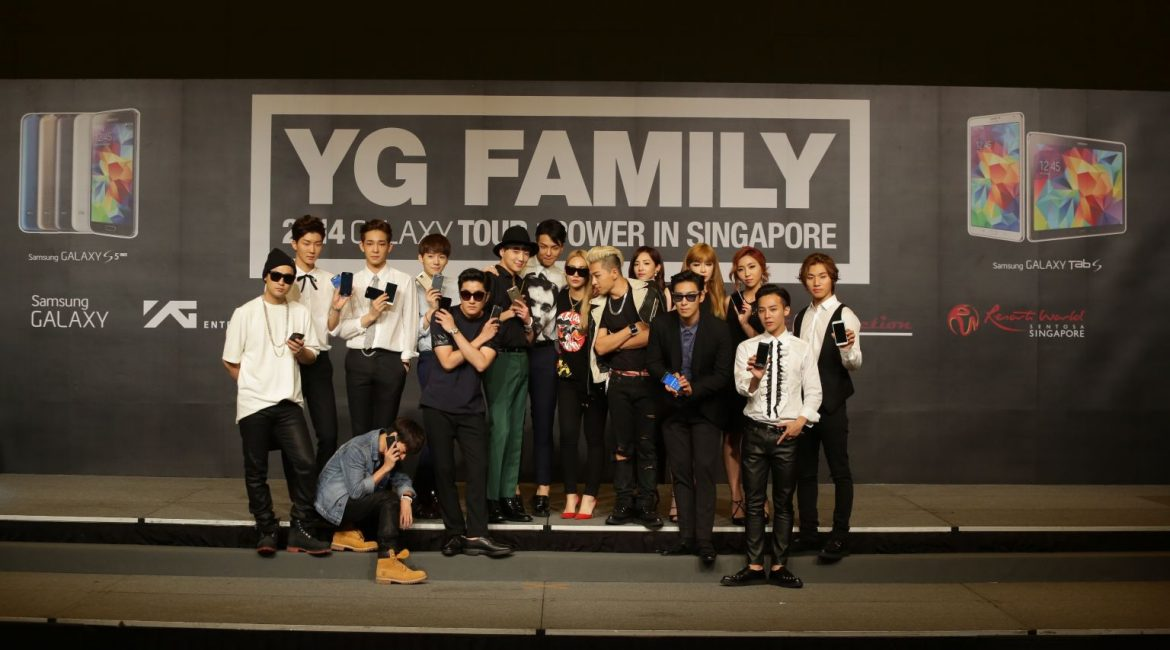 [News] Samsung POWERs the YG Family 2014 GALAXY Tour in Singapore
