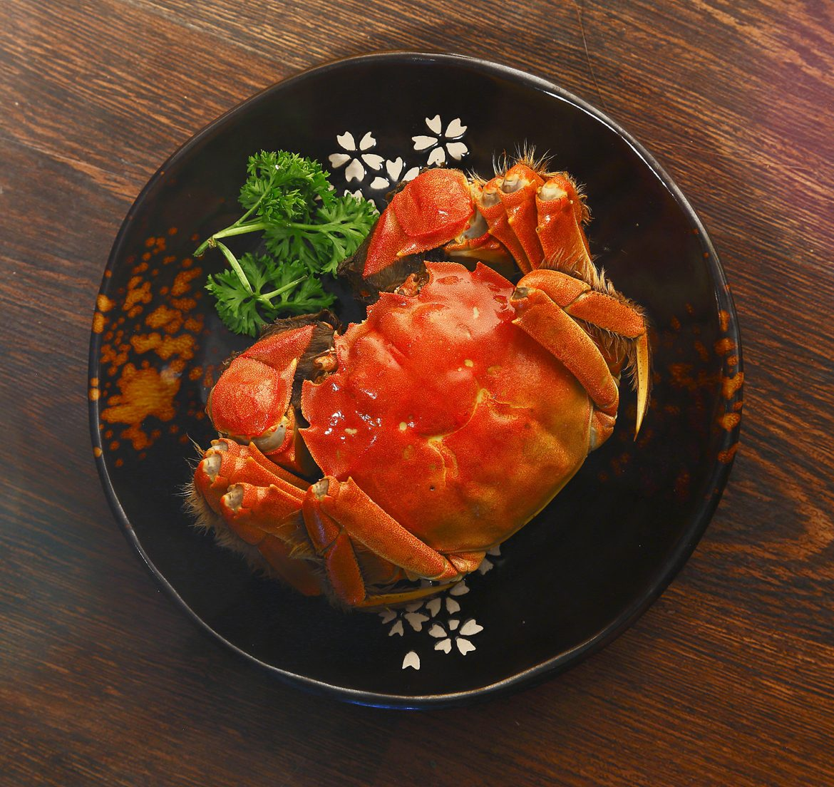 A Decadent Selection of Hairy Crab Delicacies from Hai Tien Lo