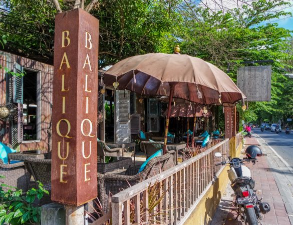 Balique – Vintage Cafe Restaurant at Jimbaran, Bali