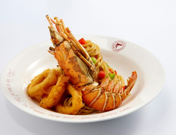 Celebrate Christmas with America's favorite crustacean at The Manhattan FISH MARKET