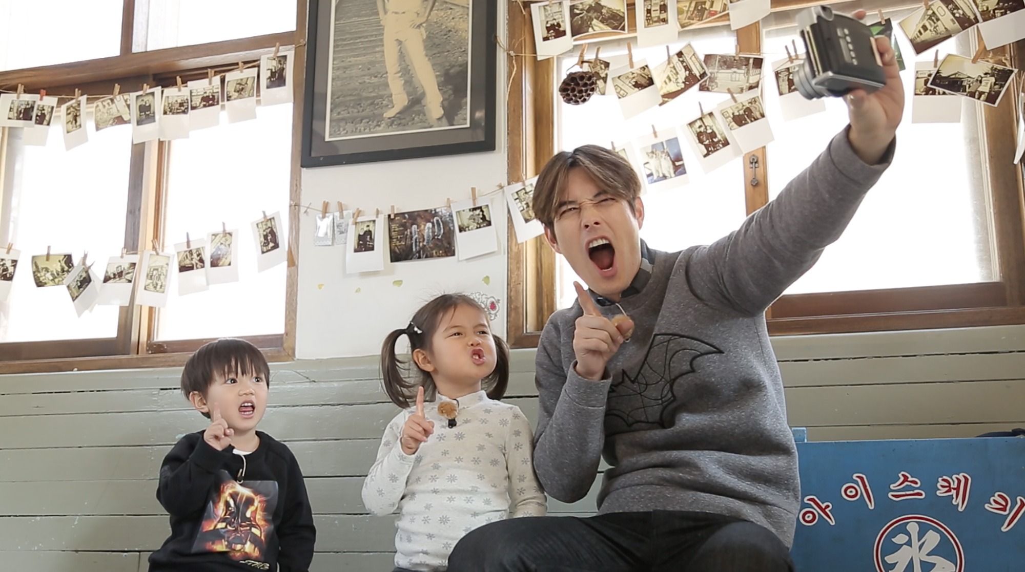 Ricky Kim comes to Singapore with his kids Tae Oh and Tae Rin from Oh! My Baby!