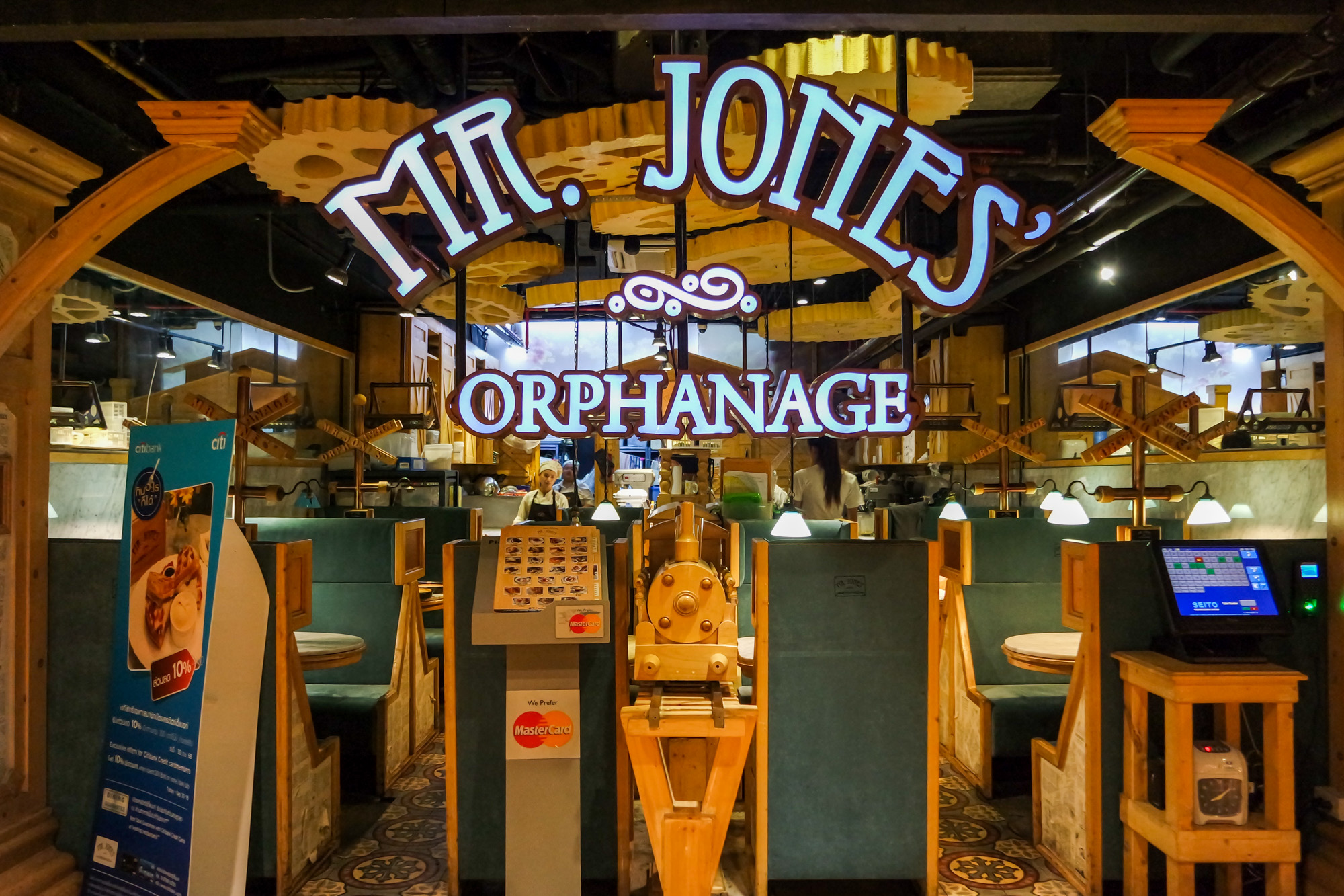 Mr Jone's Orphanage Bangkok Siam Center
