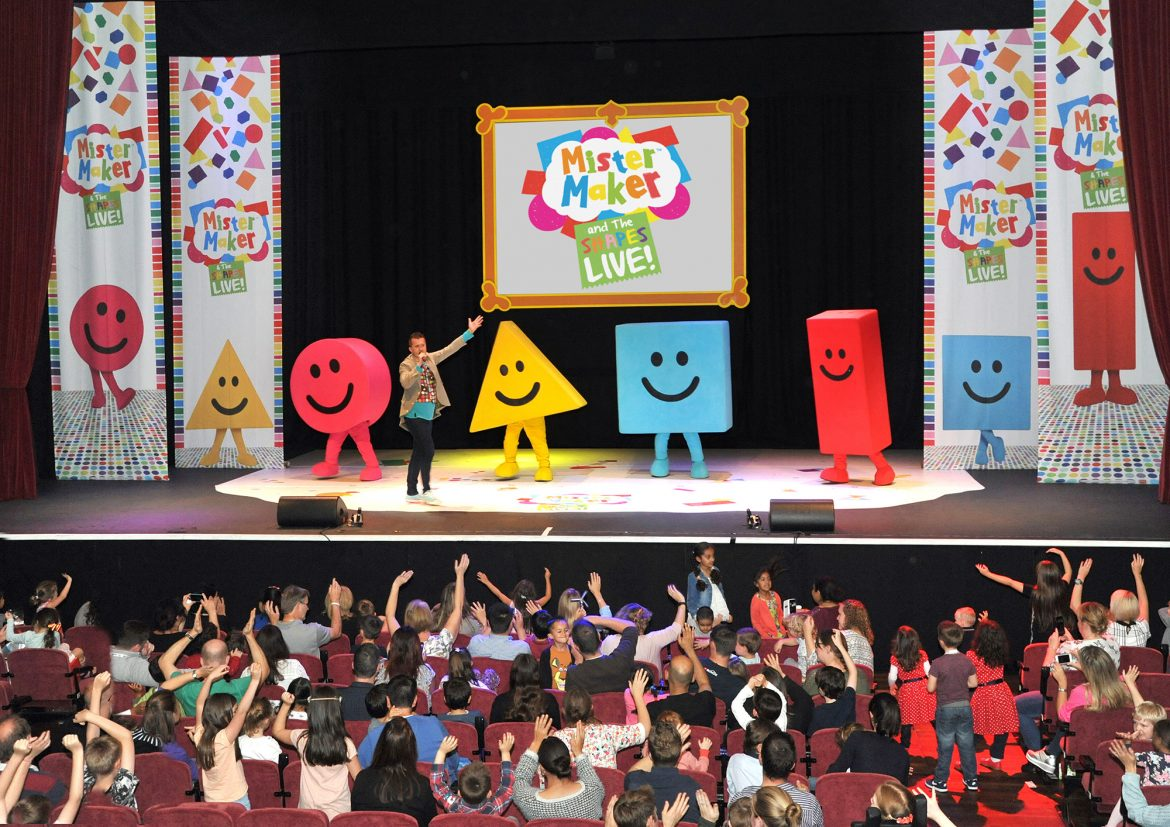 [DarrenBloggie Giveaway] Mister Maker and the Shapes LIVE on Stage for the First Time in Singapore!
