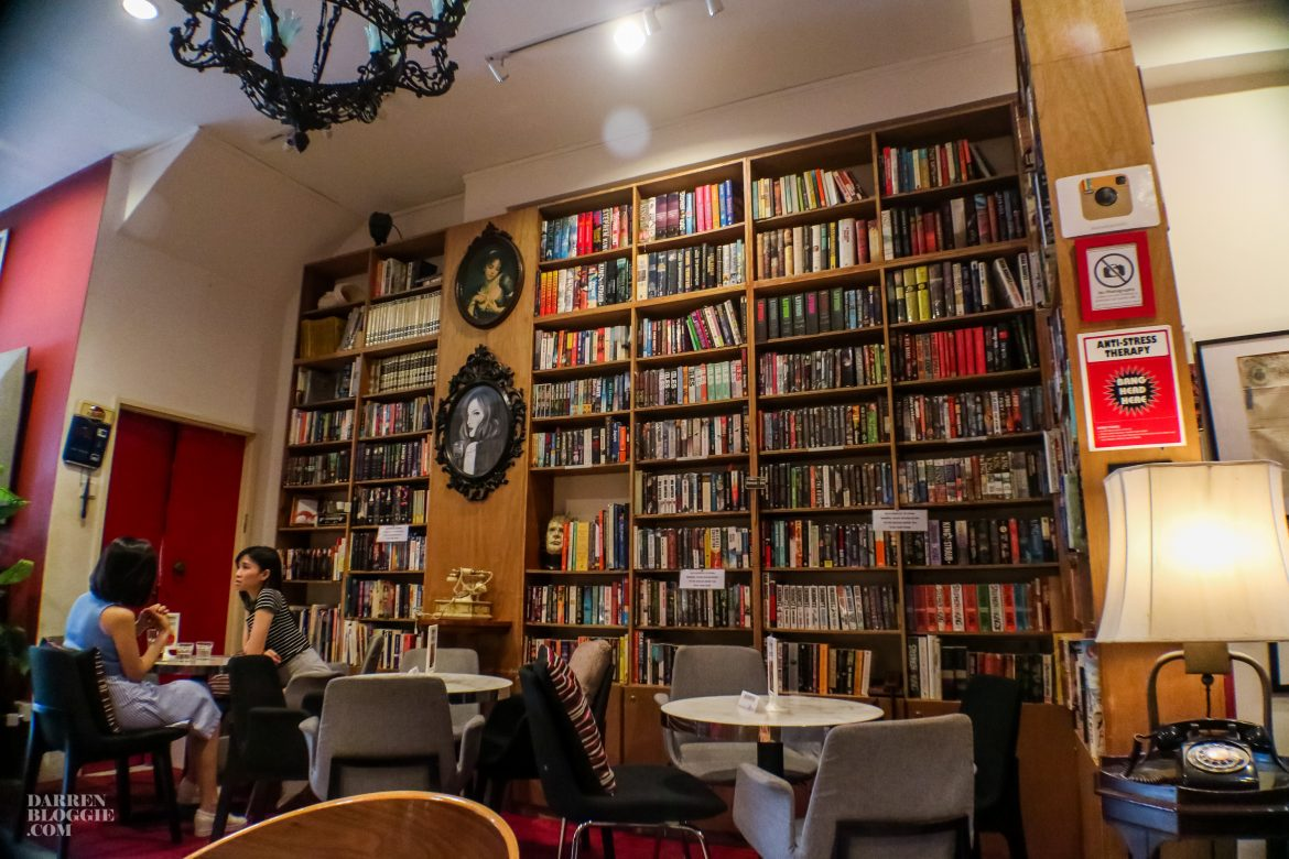 The Reading Room Cafe at Bukit Pasoh Road