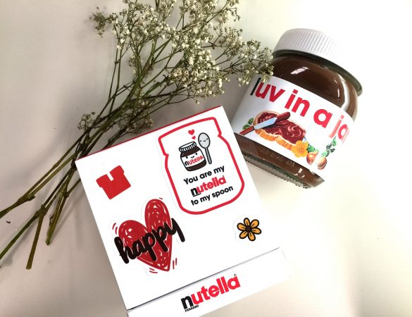 Nutella Pop-up Store Offers Limited Edition Customised Jars to Fans
