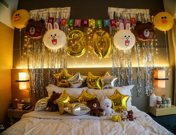 LINE-Themed Birthday Party at Le Meridien Singapore, Sentosa