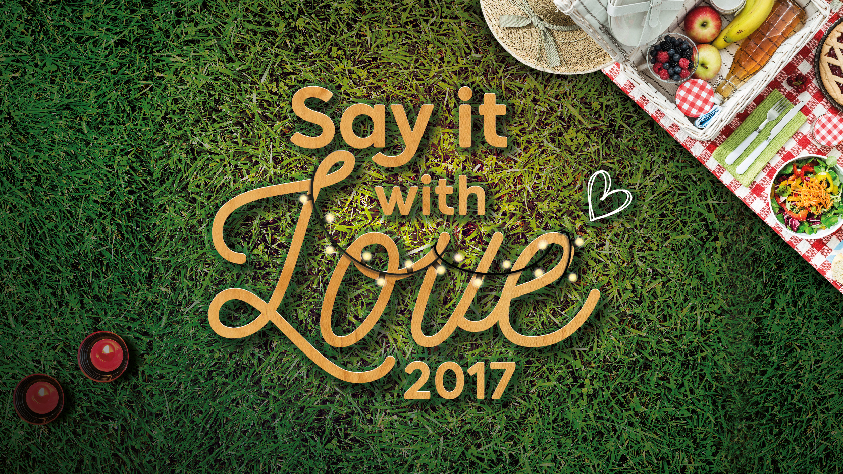 Say it with Love at Gardens by the Bay