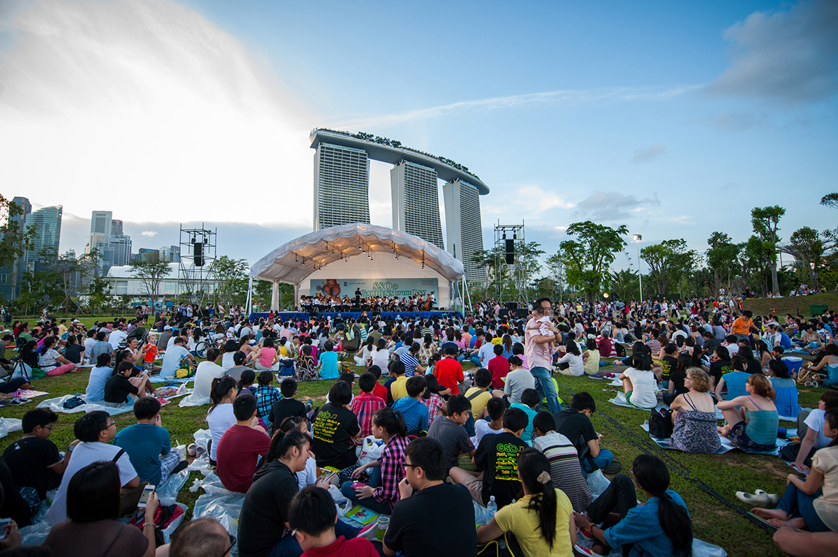 Sph gift of music series sso gardens by the bay darren bloggie - Garden by the bay festival ...