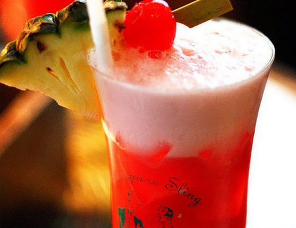Enjoy the iconic Singapore Sling in the Comfort of Your Home