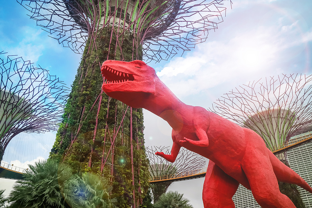 Children 39 s festival at gardens by the bay darren bloggie - Garden by the bay festival ...