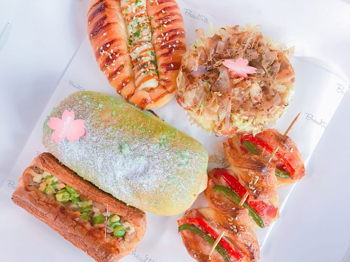 Breadtalk Captures the Best of Japan's Flavours in Limited Season Launch