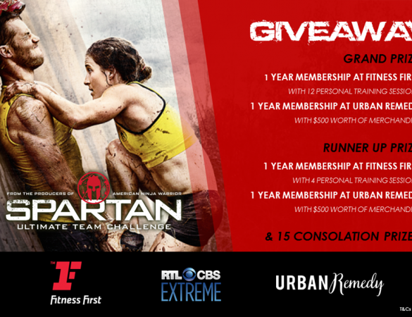 RTL CBS Extreme Giveaway: One Year Membership from Fitness First and Urban Remedy