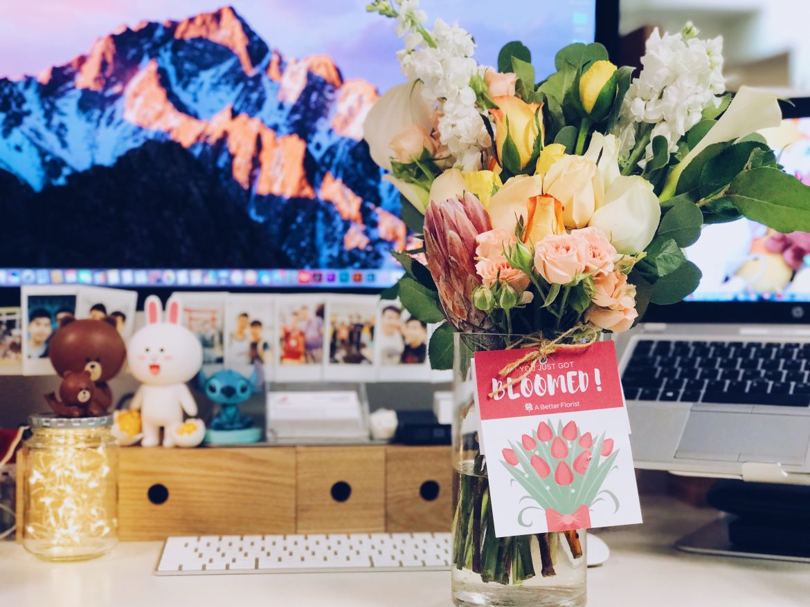 Free Same Day Delivery of Fresh Flowers with A Better Florist Darren Bloggi