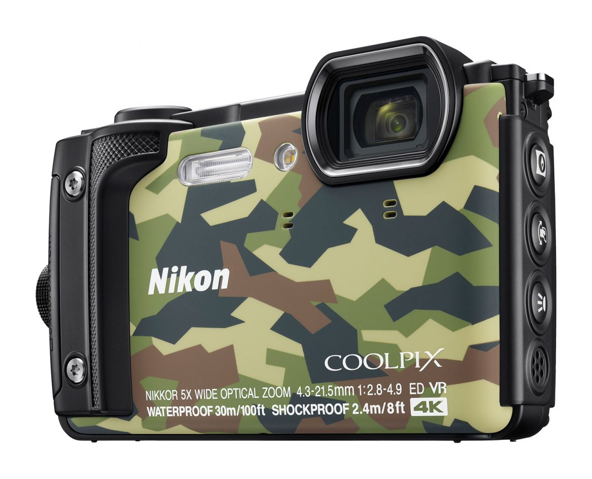 Made for the Great Outdoors:  New NIKON COOLPIX W300