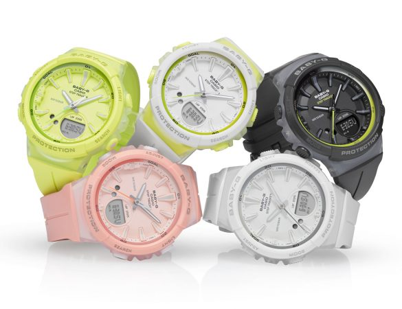 Track Your Daily Steps with Casio New Baby-G in Pastel Colour