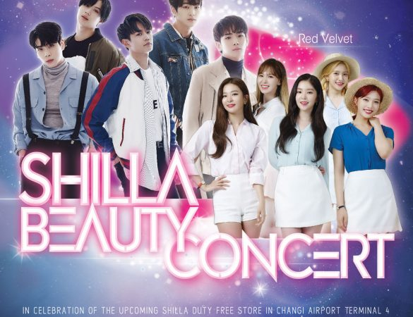 Catch SHINee & Red Velvet LIVE in Singapore at the Shilla Beauty Concert