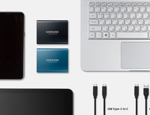 Samsung Introduces NEW Portable SSD T5