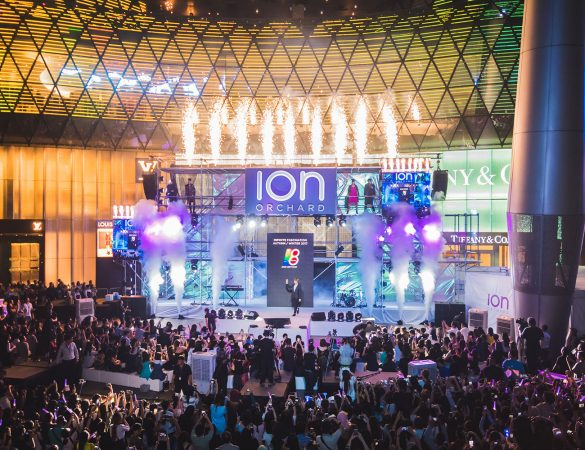 ION Orchard's Celebrated its 8th Anniversary with a Concert by 53A and Yook Sungjae