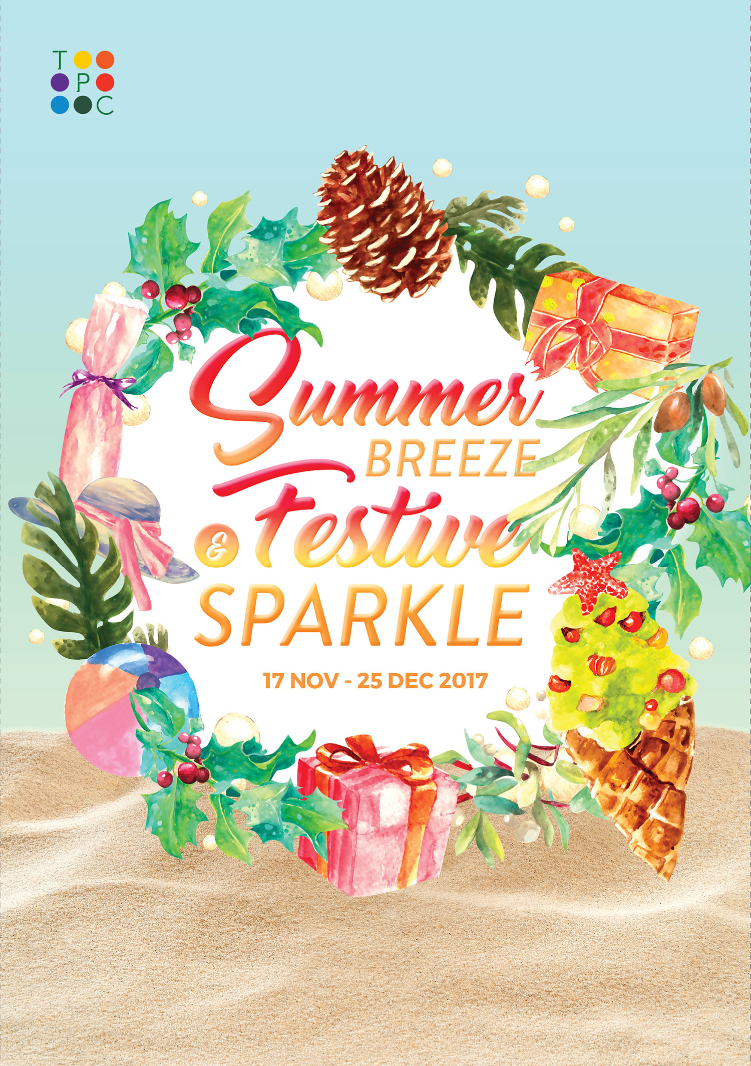 Summer Breeze and Festive Sparkles