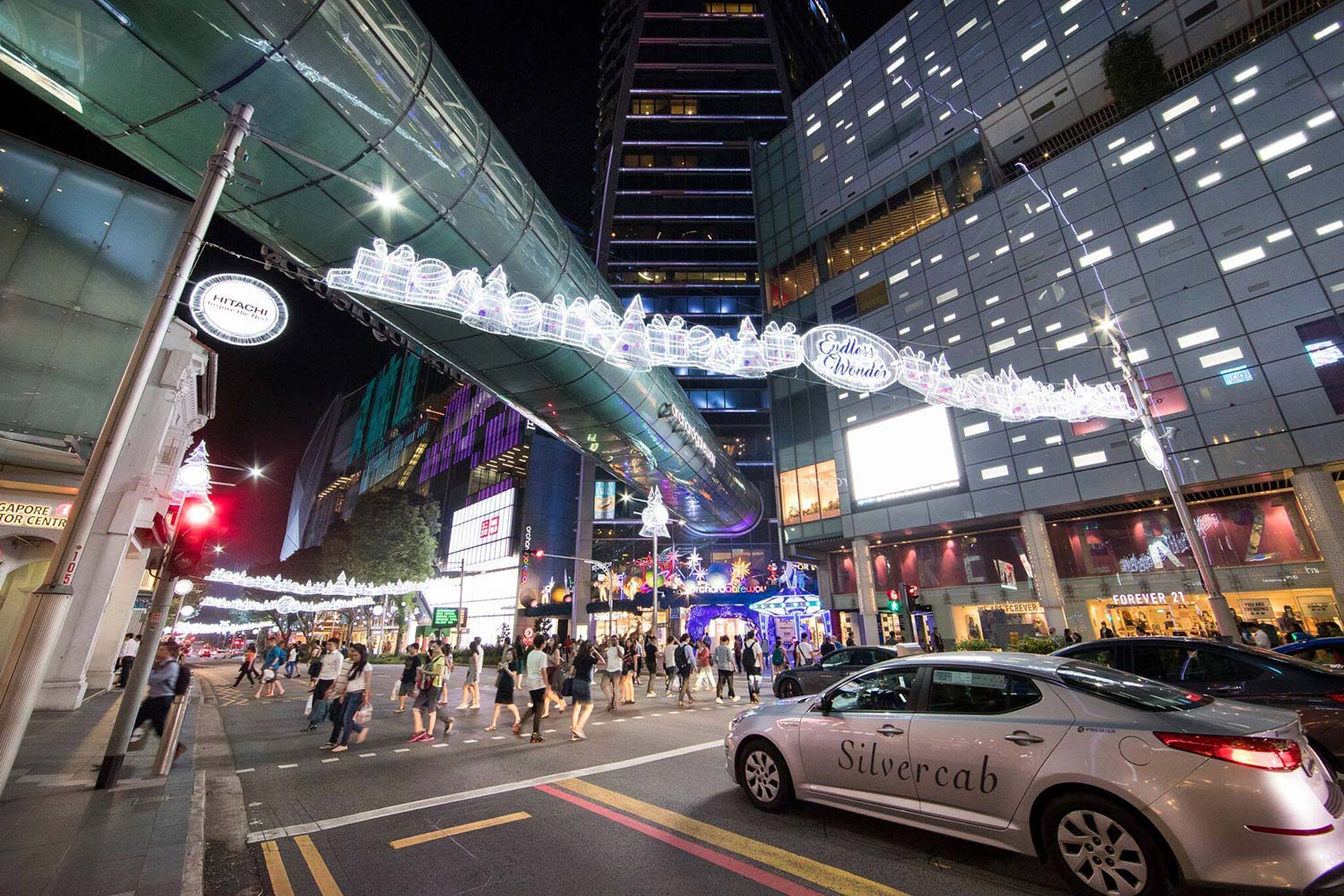 Christmas of Endless Wonder on Orchard Road