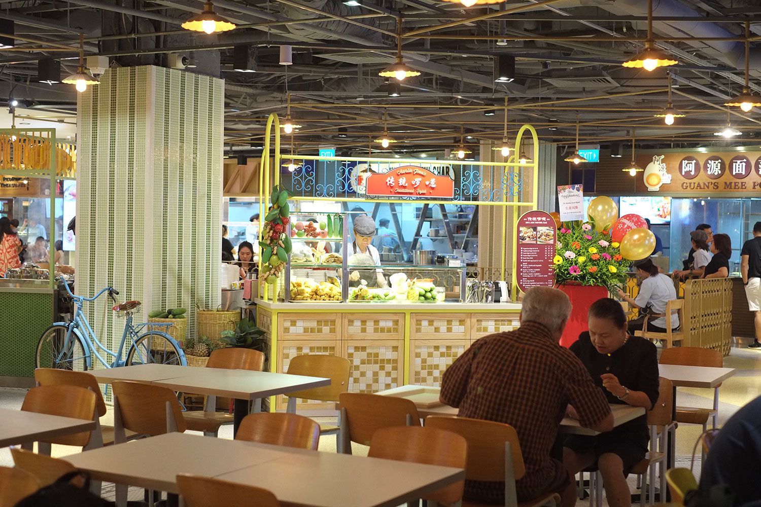 Food Republic at Wisma Atria Reopens in a Nostalgic Nanyang-Inspired Theme