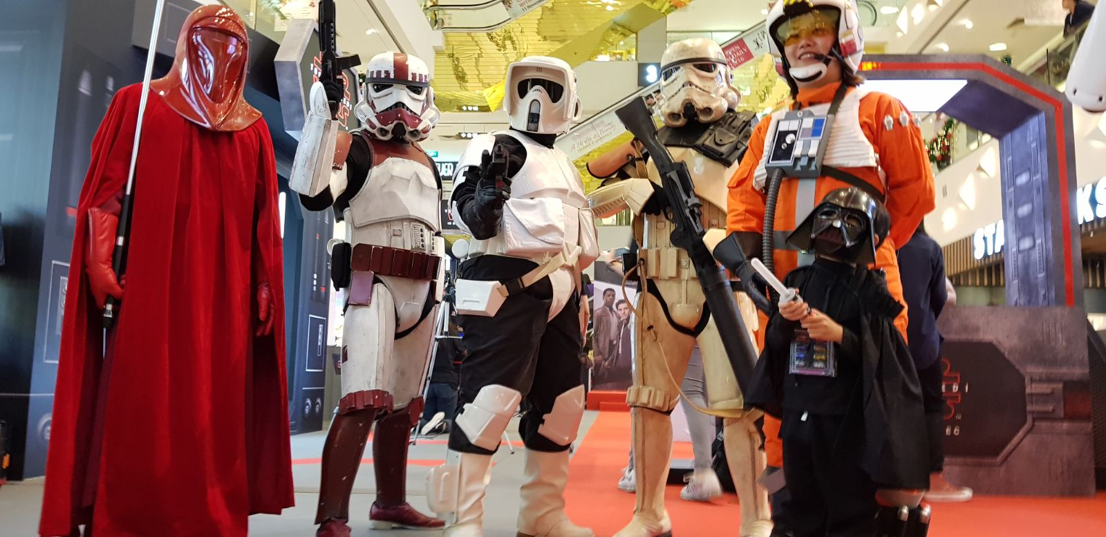 StarWars at Centrepoint Mall