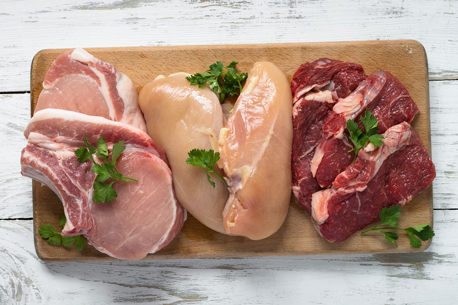 Meat - source of protein