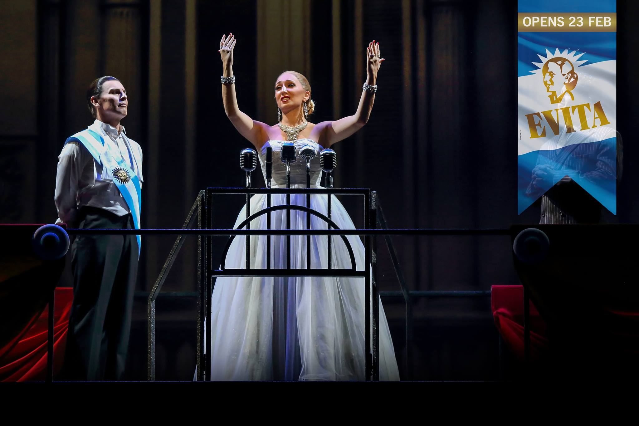 EVITA - The Musical LIVE in Singapore