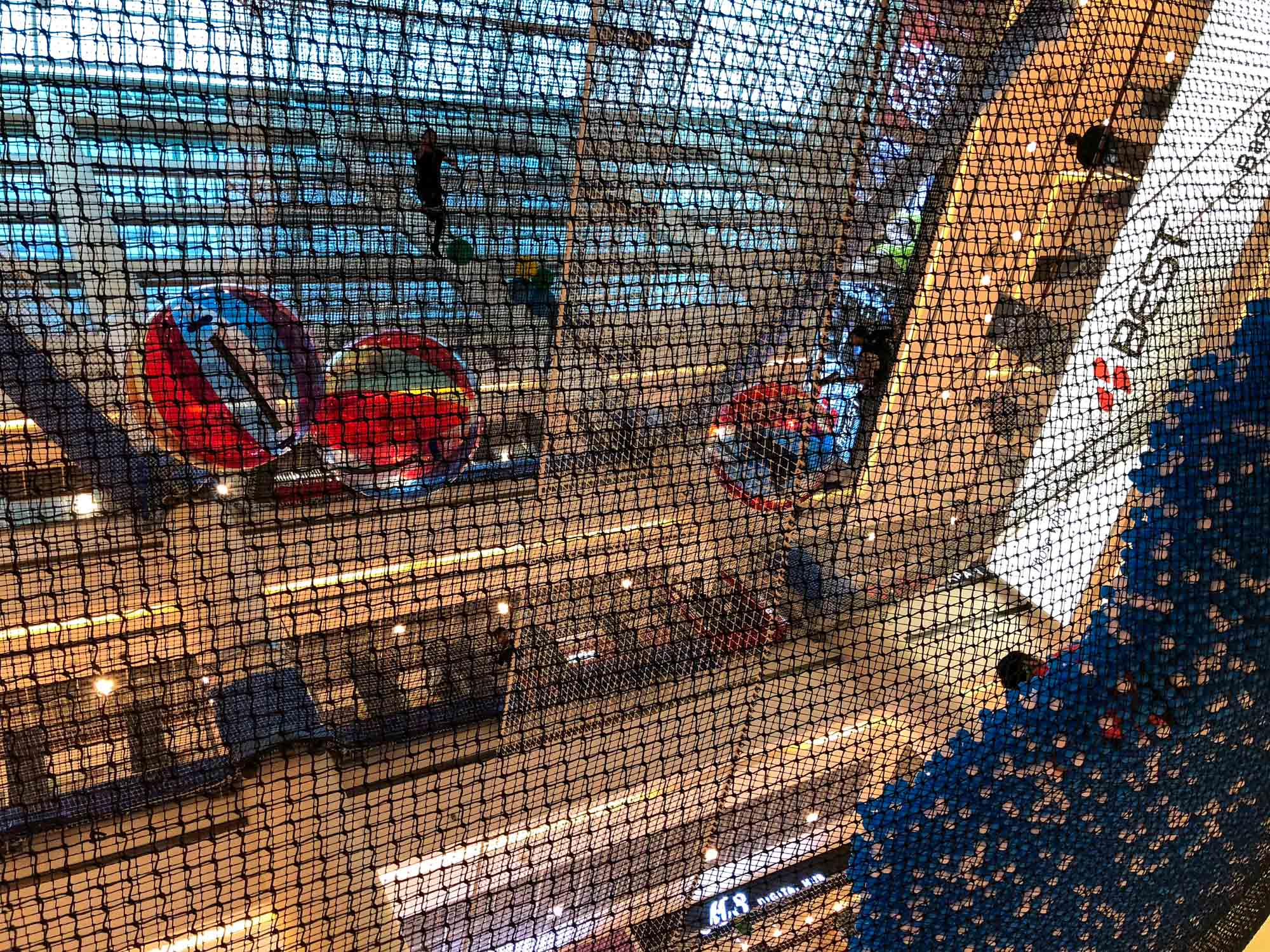 AIRZONE - The World's First Indoor Suspended Net Playground in Singapore
