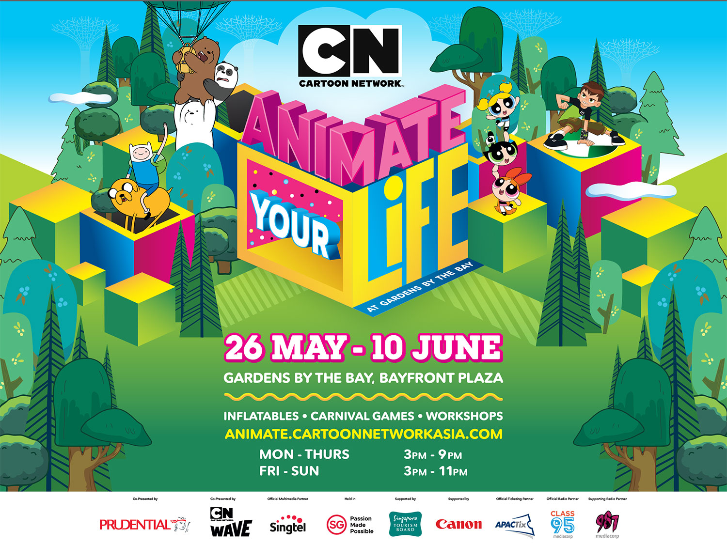 Animate Your Life at Gardens by the Bay