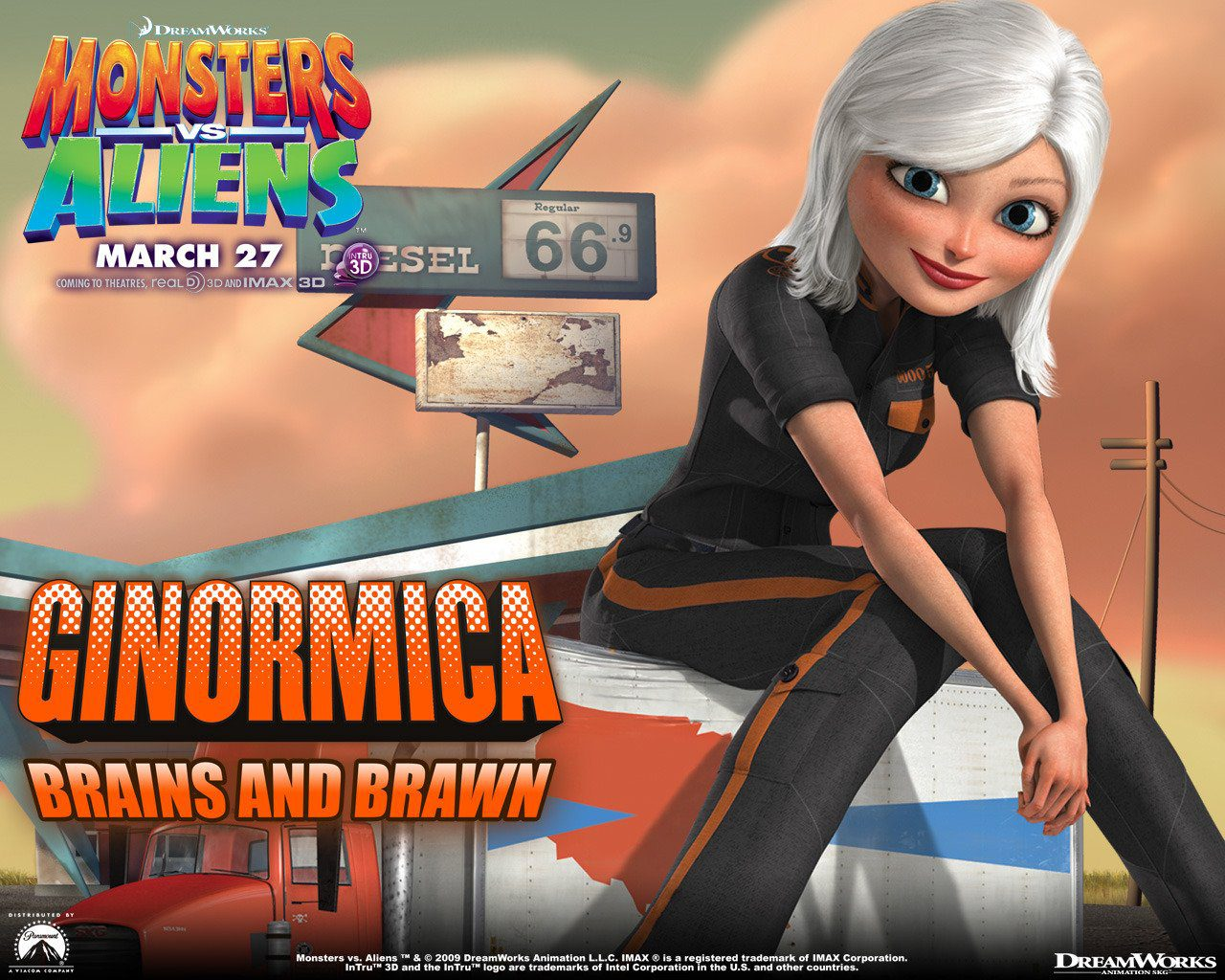 Monsters vs aliens have