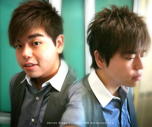 new haircut that look somehow similar to show luo