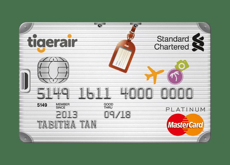 Standard Chartered Tigerair Platinum Card