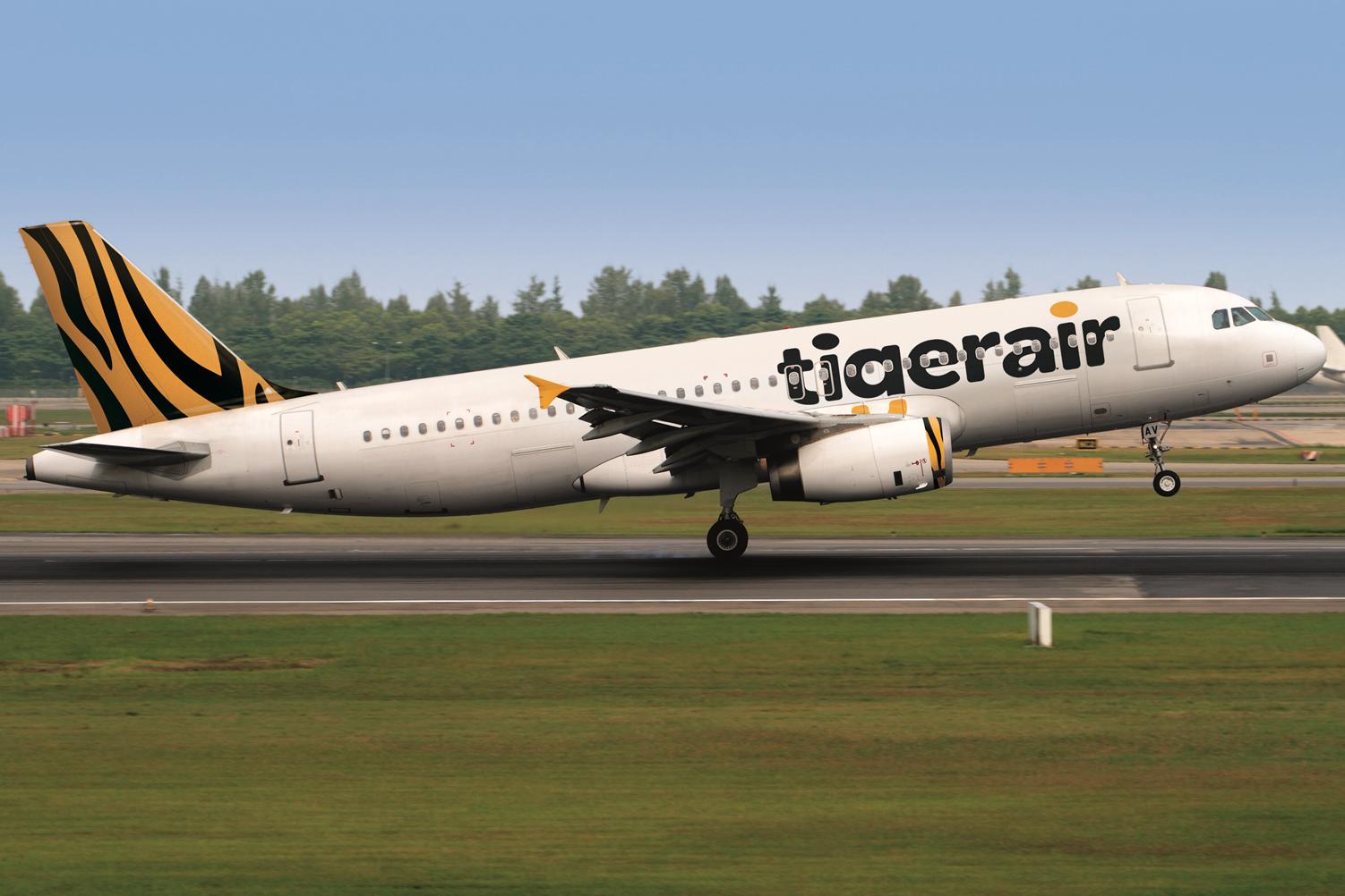 Tigerair Takeoff