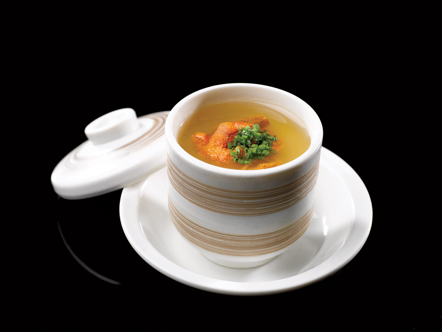 Chawanmushi-Truffle-Egg-Flan-with-Sea-Urchin-and-Snow-Crab