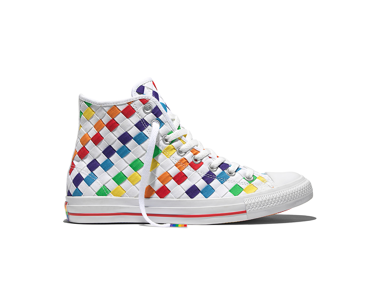 ba20964f32f5 2016 Converse Pride Collection with New Rainbow Design Chuck Taylor ...