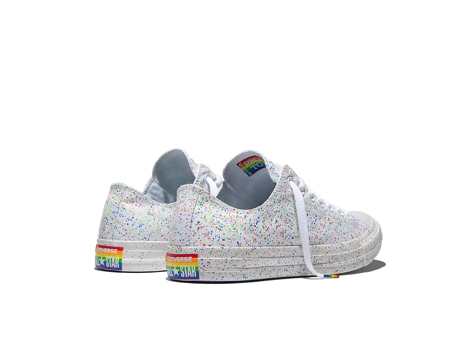 2016 Converse Pride Collection with New Rainbow Design Chuck Taylor Sneakers 6d75bc29b