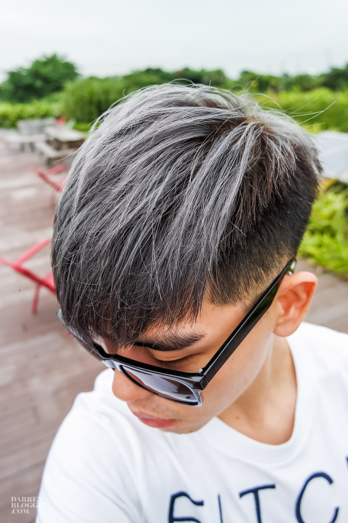 Cool Ash Grey Hair Color From 99 Percent Hair Studio Darren
