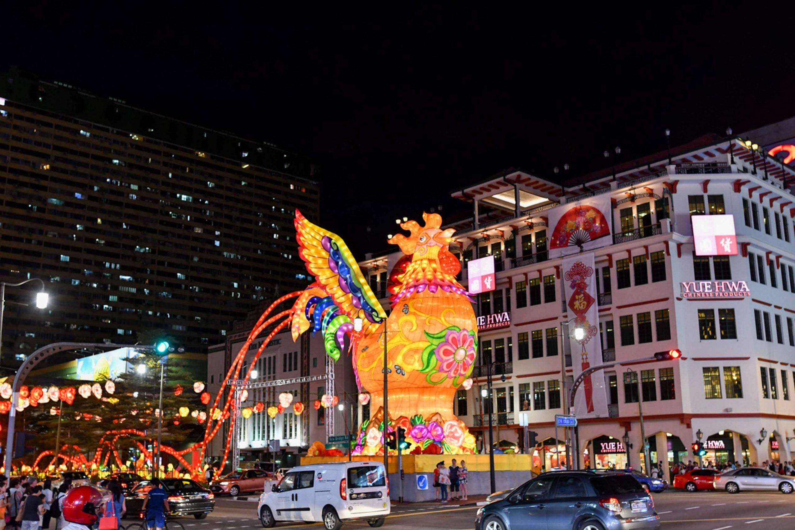 Chinatown Chinese New Year Street Light-Up