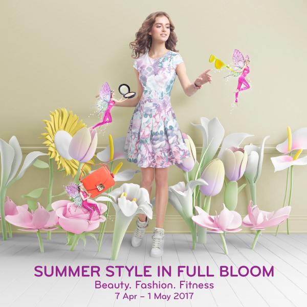 Summer style in full bloom at VivoCity